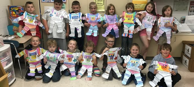 Perry Elementary students had a great time creating their astronauts while learning about the summer program's theme Universe of Stories. Sign-ups for the youth summer library events will begin Wednesday, June 26th!