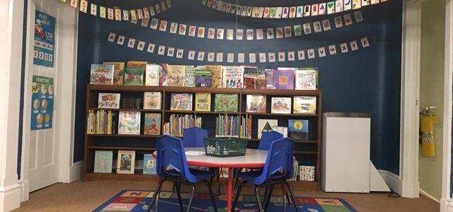 Lots of wonderful books on the stage for your children and grandchildren.